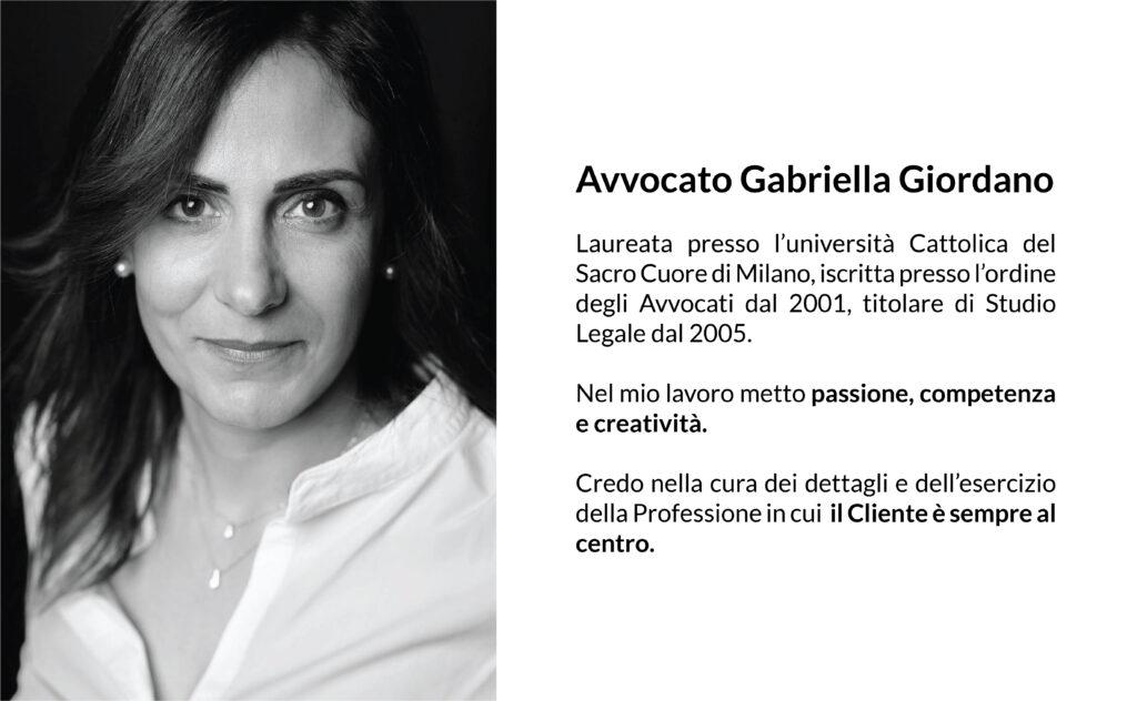 Avvocato Gabriella Giordano - studio legale busto arsizio (Varese)